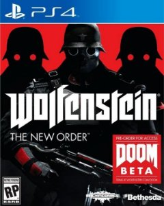 WOLFENSTEIN THE NEW ORDER COVER - PS4