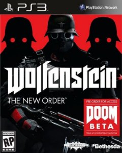 WOLFENSTEIN THE NEW ORDER COVER - PS3