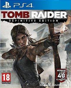 TOMB RAIDER EDIÇÃO DEFINITIVE -PS4