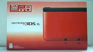 NINTENDO 3DS XL: VERMELHO