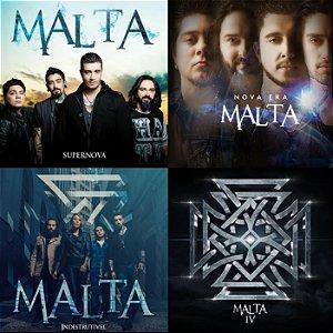 Os 4 CDs da Banda Malta