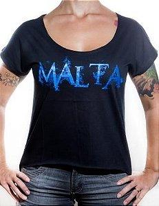 Camiseta Malta - Gola Aberta Feminina