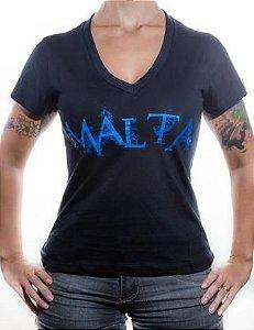 Camiseta Malta - Baby Look Feminina