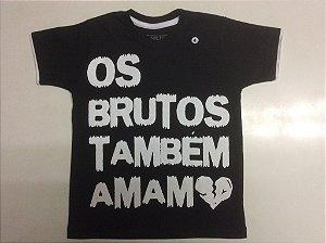 Camiseta Infantil Brutos