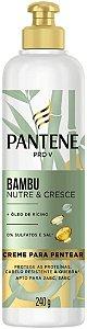 Creme de Cabelo Pantene Bambu Nutre e Cresce 240g