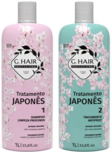 Escova Progressiva G Hair Tratamento Japonês 2x1L