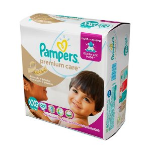 Fralda Pampers Premium Care XXG 32