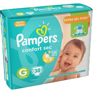 Pampers Confort Sec G 38