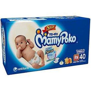 Mamypoko Fralda Calça RN 40 Unidades