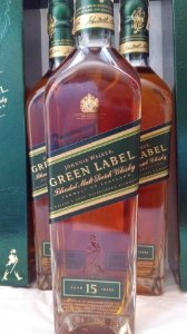 Johnnie Walker Green Label 15 anos 750ml