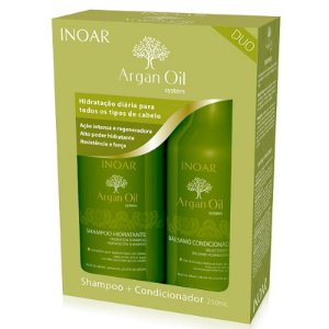 Inoar Argan Oil Kit Duo Shampoo e Condicionador 250ml