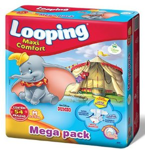 Fralda Looping Maxi Confort M 54 - Botane Best Price