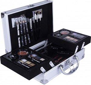 Maleta de Maquiagem Completa Prata - HB94674