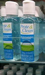 Álcool gel Antisséptico Hidratante Prote & Clean 115ml