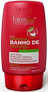 Leave in Banho de Verniz Morango Forever Liss 140g