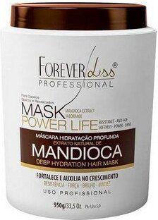 Máscara Hidratação Profunda Extrato Natural de Mandioca 950g