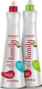 Kit Mutari Everyday Family Shampoo e Condicionador 2 Litros