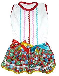 Vestido Caipira Sinhazinha