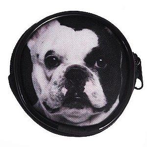Porta Moedas ou Fone de Ouvido - Bulldog Francês