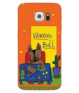 Capa de Celular - Working Bull