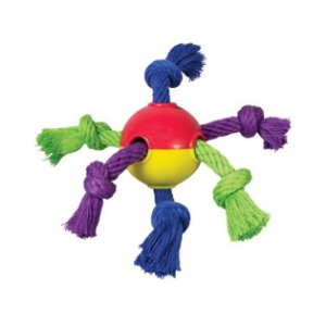 Brinquedo Puppy Hearty Chew - Borracha e Cordas
