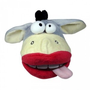 Brinquedo de Pelúcia Vaca Louca