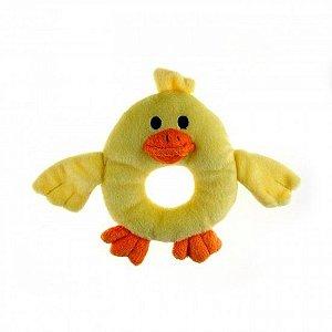 Brinquedo para filhotes - Patinho Amarelo - NEW PUPPY AFP