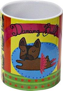 Caneca Bulldog Bailarina