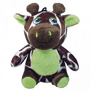 Brinquedo de Pelúcia Safari Girafa