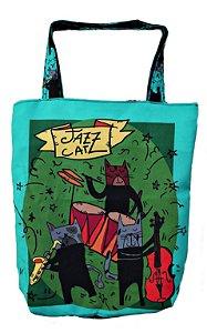 Bolsa tipo Sacola Jazz Cat