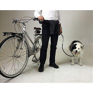 Suporte Guia de Cachorro para Bicicleta - Cycleash - Kit Completo