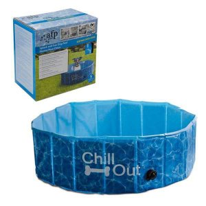 Piscina Para Cães Pequena Afp - Chill Out Splash And Fun Dog Pool - 120 Litros