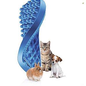 """Escova Massageadora """"PET+ME"""" - Gatos de Pelos Curtos"""
