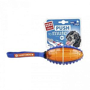 Brinquedo Bola de Rugbi - Push To Mute - Aperte para Silenciar