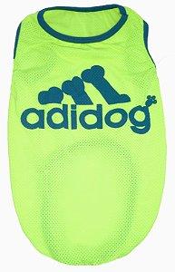 Regata Adidog Verde- Fator Proteção UV50