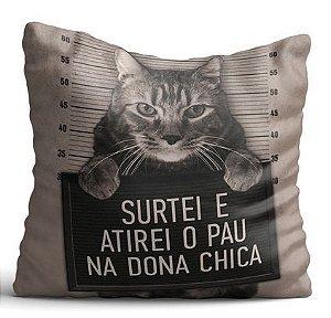 Capa de Almofada - Dona Chica