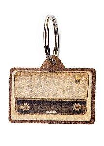 Plaquinha de Identificação Radio Retrô