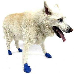 Pawz Azul - Botas para Cães - Tamanho Médio