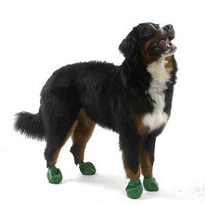 Pawz Verde Escuro - Botas para Cães - Tamanho X Large (X Grande)