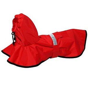 Capa de Chuva Vermelha - Vários Tamanhos