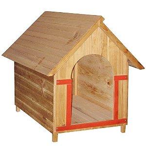 Casinha de Cachorro de Madeira - Vários tamanhos