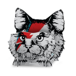 Organizador de Escritório - Gato de Bowie