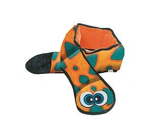 Brinquedo Resistente Cobra Laranja - Linha Invincibles® Snakes