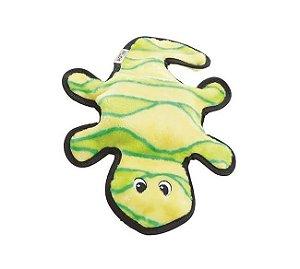 Brinquedo Resistente Lagartixa Verde - Linha Invincibles®