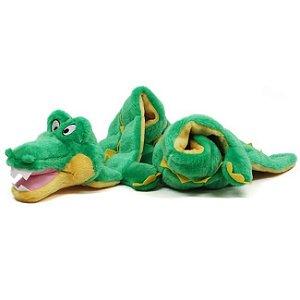 Brinquedo de Pelúcia Mega Squeaker Jacaré