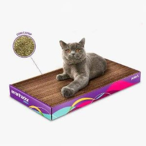 Arranhador para Gatos com Catnip - Petlon