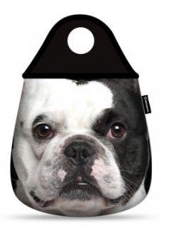Lixeirinha de Carro Bulldog Francês