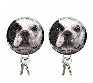 Chaveiro Bulldog Francês