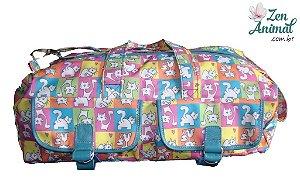 Bolsa de Viagem - Gatinhos Coloridos