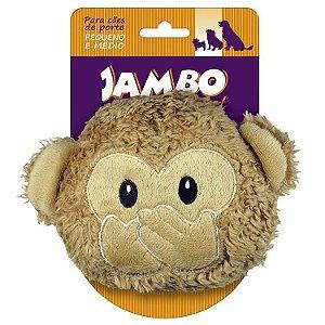 Brinquedo de Pelúcia Emoji Macaco